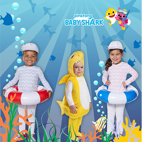 Baby Shark Costume by MaterialJill