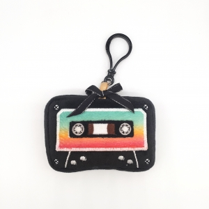 plush cassette tape classic retro mixed tape