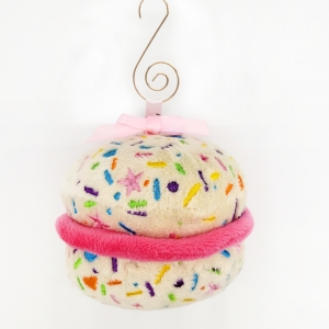 macaron lover plush holiday ornaments holiday tree colorful embroidery