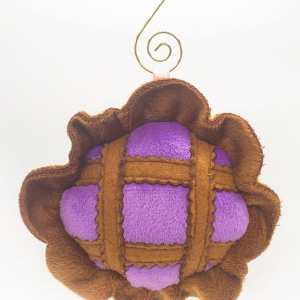 blueberry pie lover baker gift pie gift plush blueberry pie