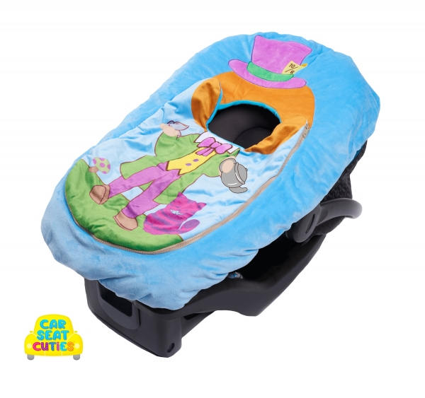 Infant Halloween costume infant dress up baby car seat cover alice in wonderland lewis carroll