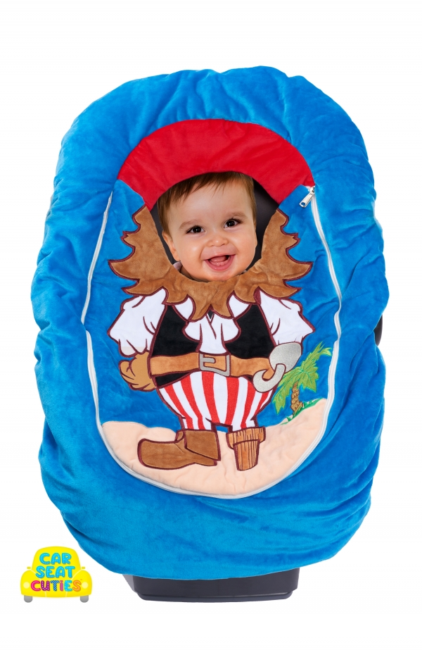 Pirate infant costume cover