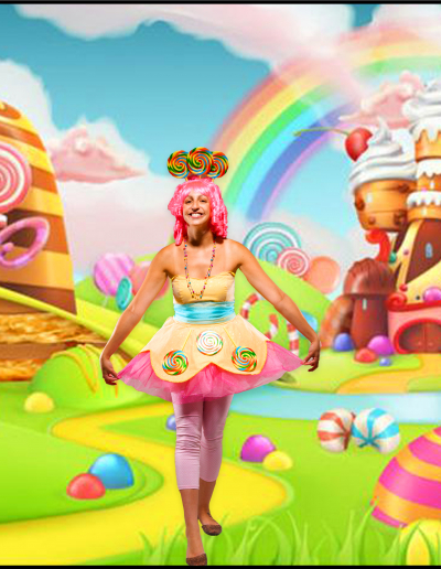 candyland cosplay